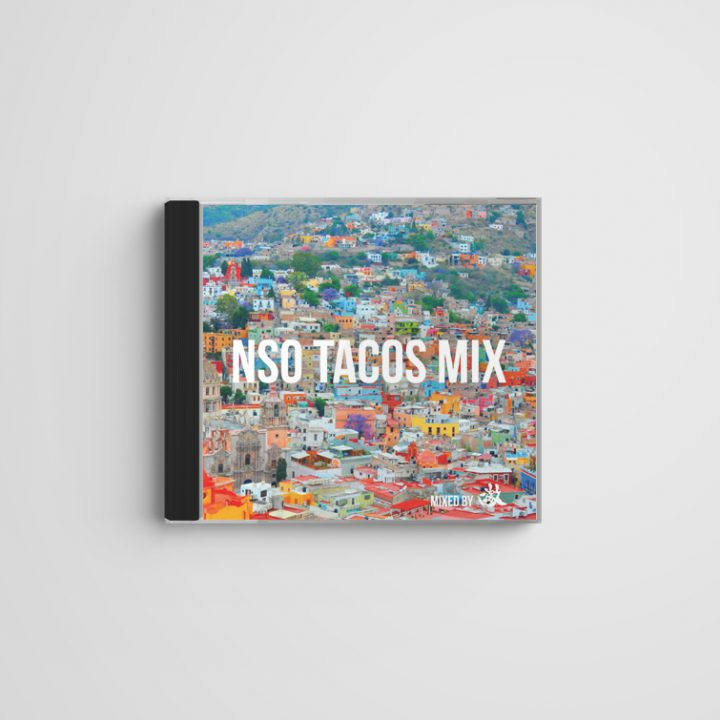 NSO TACOS MIX CDジャケット