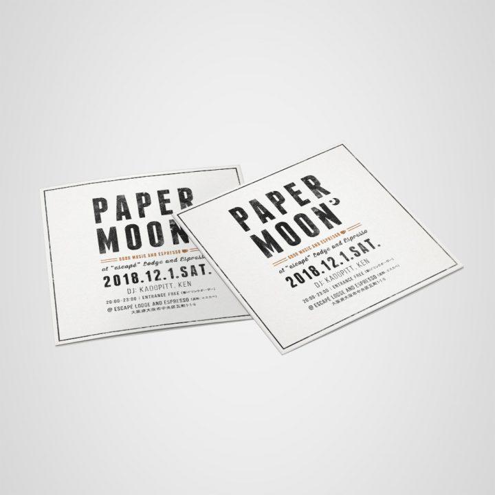PAPER MOON フライヤー