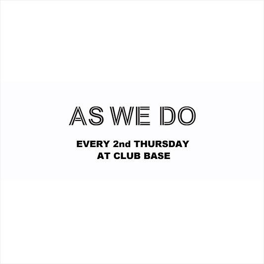 AS WE DO BASE ANNIVERSARY DRUM'N'BASS SPECIAL!
