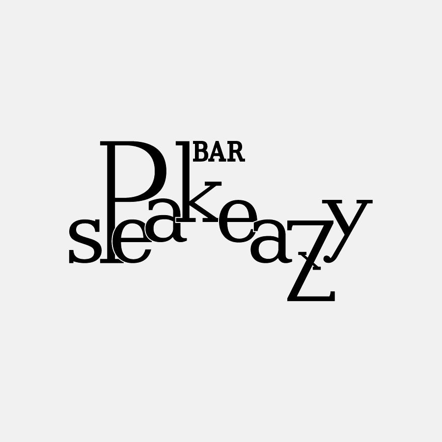 BAR speak easy ロゴ