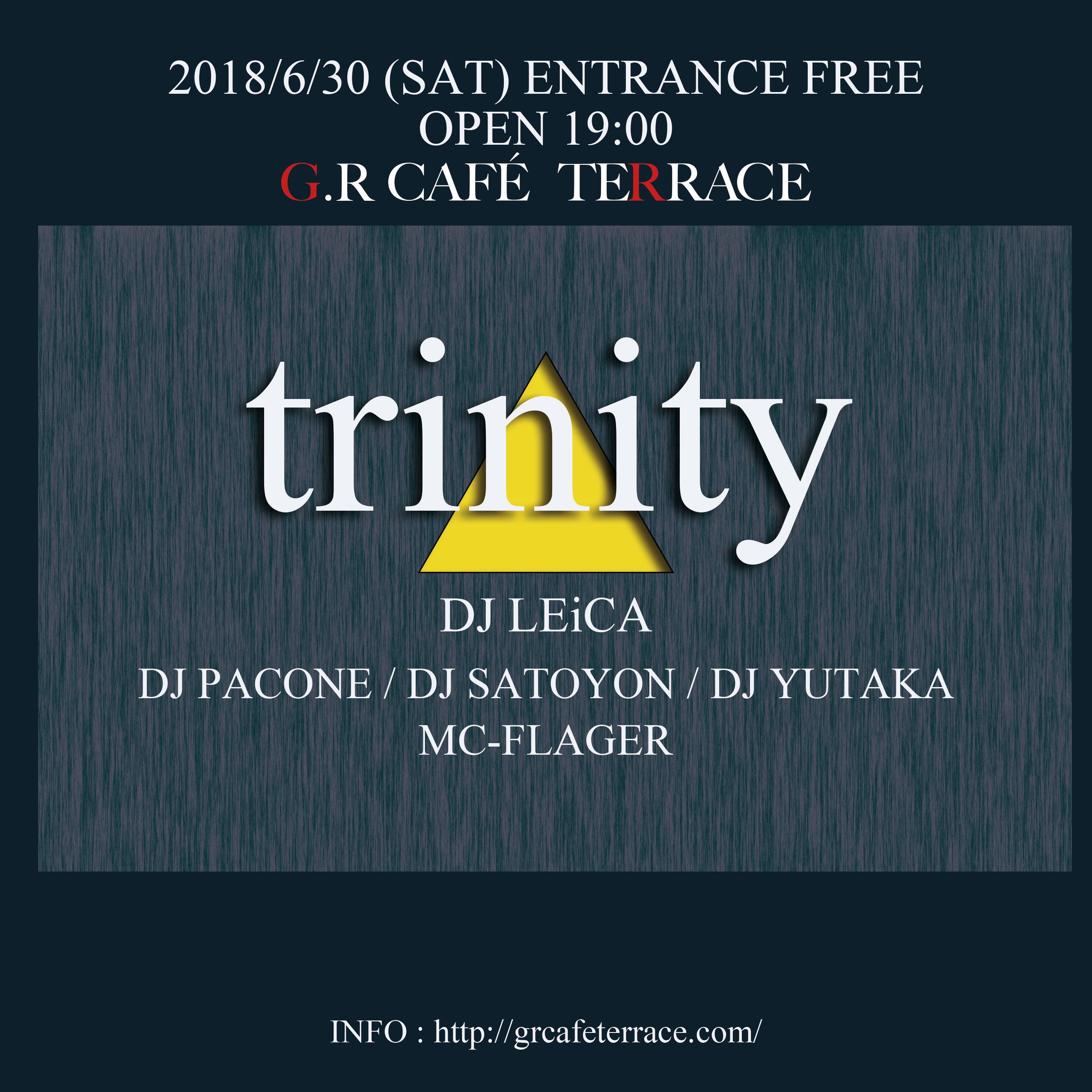 trinity @G.R CAFE TERRACE