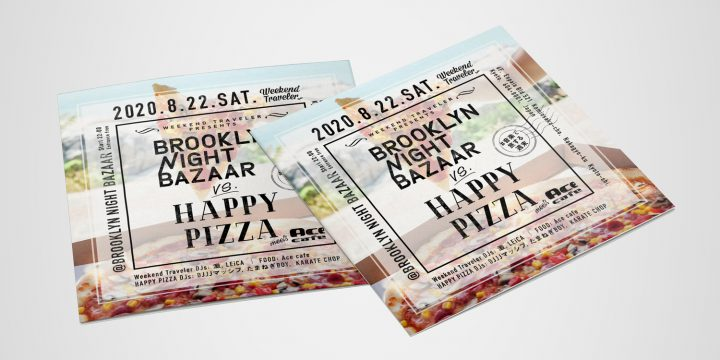 Weekend Traveler Presents BNB VS. HAPPY PIZZA @BROOKLYN NIGHT BAZAAR